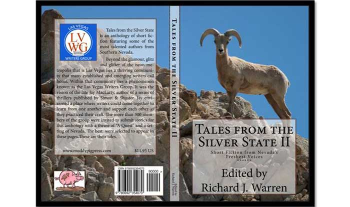 Front and back cover of Tales from the Silver State II