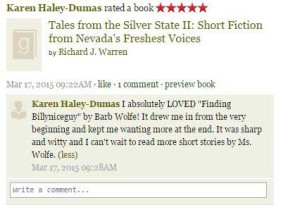 5 star review on Goodreads.com